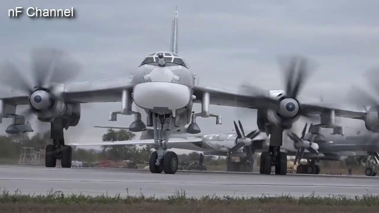 Tupolev Tu 95 Ms In Syria