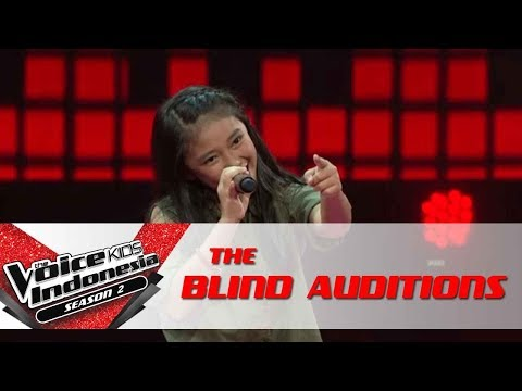 Anneth 'Rolling In The Deep' | The Blind Auditions | The Voice Kids Indonesia Season 2 GTV 2017