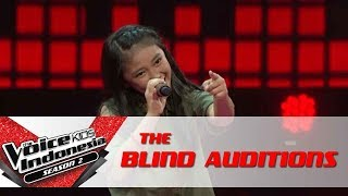 AnnethRolling In The DeepThe Blind Auditions The Voice Kids Indonesia Season 2 GTV 2017