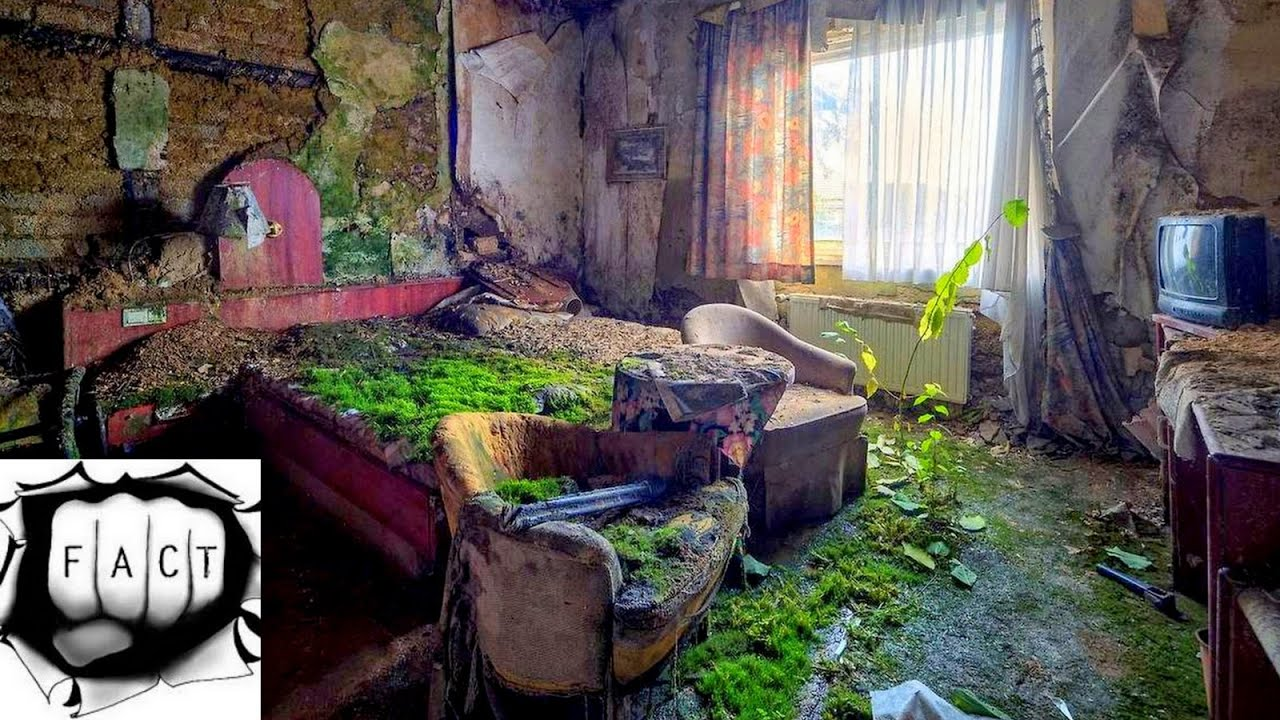 Abandoned Hotel Room Columbia