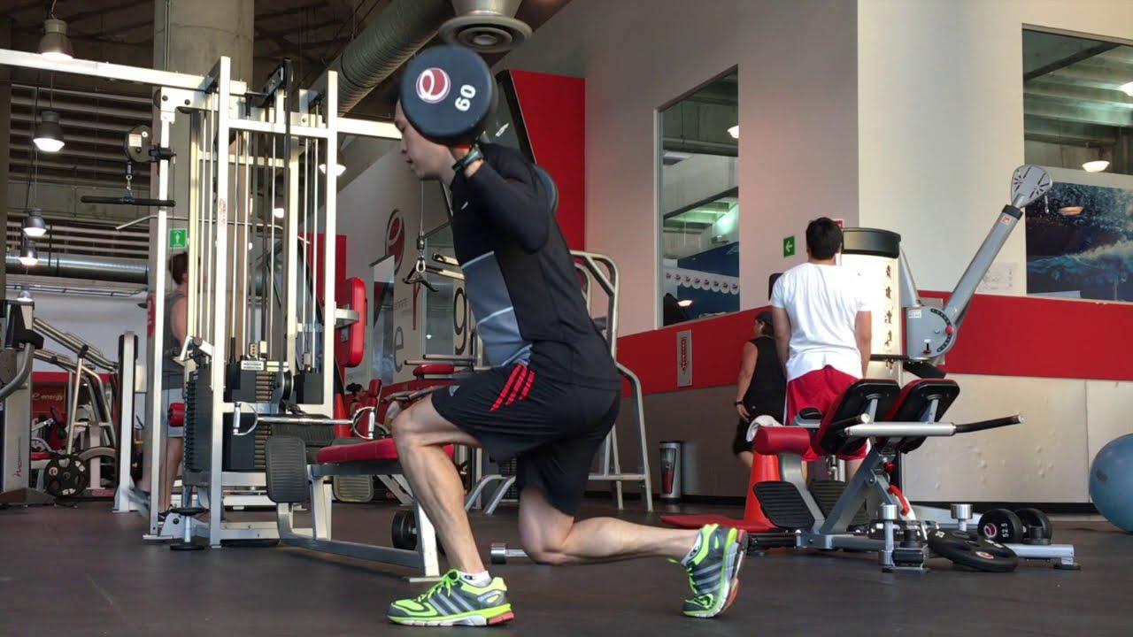 ejercicios de pierna en gym