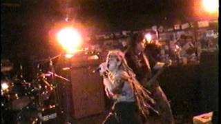 Crisis live part 1 at the Caboose Garner NC 10/29/98 hardcore female fronted heavy metal