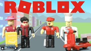 Roblox High School & Work at a Pizza Place from Jazwares