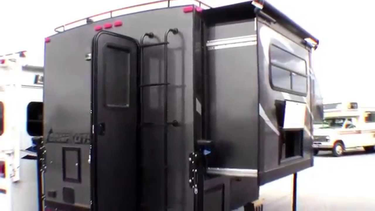 Rv Campers For Sale >> Eric's New 2015 Livin' Lite 8.4S Camp Lite Truck Camper with Slide. Thanks, and Enjoy! - YouTube