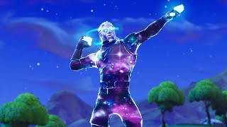 😍 I'VE TRIED GALAXY SKIN 😍 * FORTNITE *
