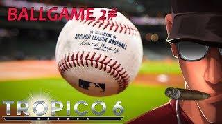 Tropico 6 Ballgame! HARD part 2 - The Dream team of Tropico! | Let's Play Tropico 6 Gameplay