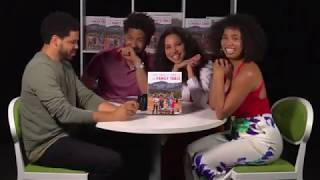 Jurnee Smollett Facebook LIVE | The Family Table Cook Book Promo | New York | Wed 25 April 2018