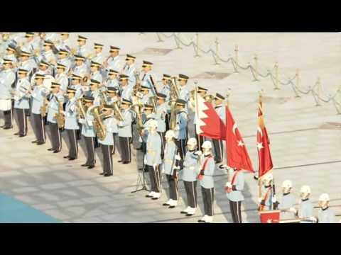 Bahrain's King Hamad Bin Eisa Al Khalifa is making an official visit to Turkey
