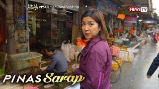 Pinas Sarap: Ano-ano kaya ang mahahanap ni Kara David sa isang seafood market sa Xiamen?