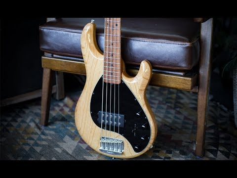 Ernie Ball Music Man StingRay5 Special Bass - Specifications and Demo