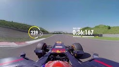 On board with Max Verstappen for a 360 lap of Zandvoort