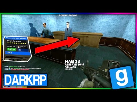 PRINTERS CACHÉS INVISIBLE A 100 % - GMOD DarkRP FR - MkProd