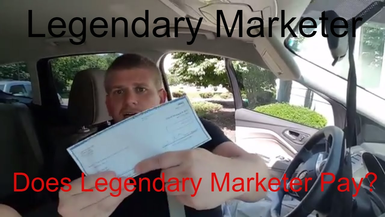 Features New  Legendary Marketer