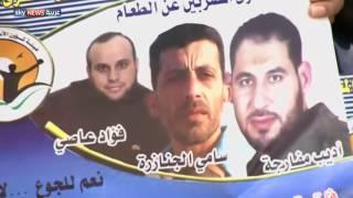 رام الله.. اعتصام لذوي الأسرى المضربين عن الطعام