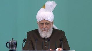 Freitagsansprache 08.07.2016 - Islam Ahmadiyya