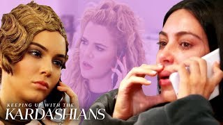 """Things get emotional when you're on the phone with the Kardashian-Jenner family. Watch some memorable """"KUWTK"""" phone conversations that tug at your ..."""