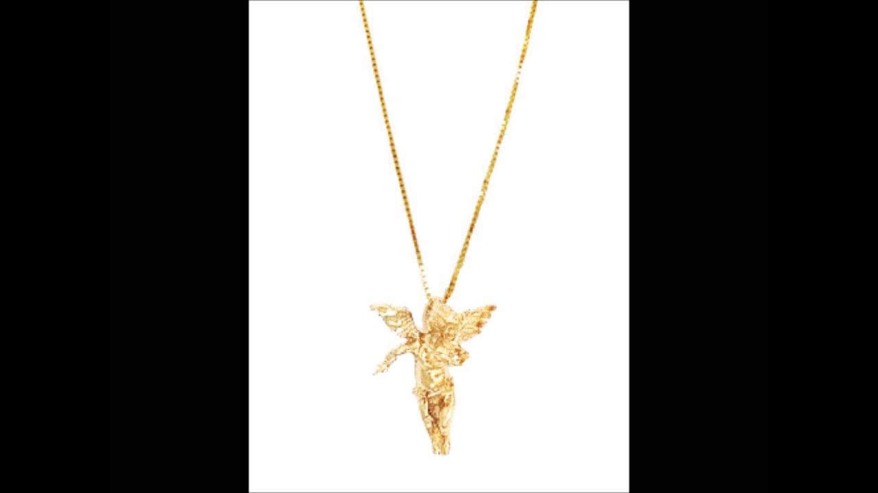 Gold angel necklace youtube gold angel necklace aloadofball Choice Image