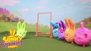 BRAND NEW - SUNNY BUNNIES Toyplay featuring Bunny Blabbers, Light Up & Bounce and Cannon Playset