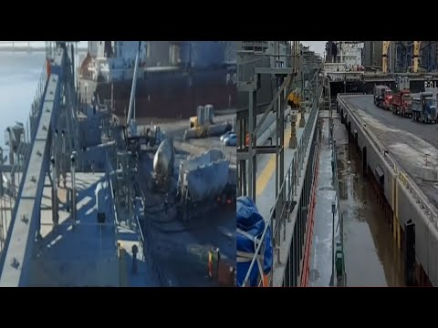 Last Voyage | Alongside | Loading | Cement Carrier |