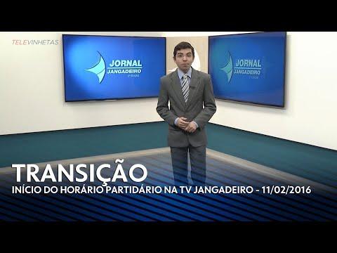[HD] Corte para o horário político na TV Jangadeiro/SBT (11/02/2016)