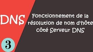 3-Fonctionnement de la résolution de nom d'hôte côté Serveur DNS #darija