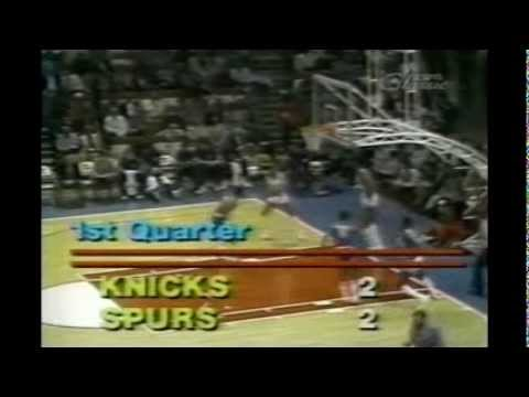 George Gervin (41points) vs Bernard King (50points), 1983-84, highlights