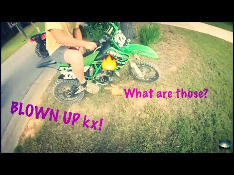 how to BLOW UP a KX85!