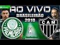 Palmeiras 3x2 Atlético-MG | Chape 0x0 Santos | Brasileirão 2018 | Parciais Cartola FC | 14ª Rodada