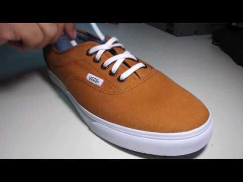 brillante n color selección mundial de mejor servicio How to Lace Vans - Bar Lace (5 holes) - YouTube