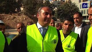 """أمين عمان يعلن إنجاز٤٠% من مشروع """"نفق الصحافة"""""""