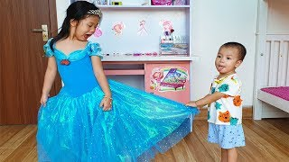 Ngoc Van and Cinderella Funny Story for Kids, BaBiBum