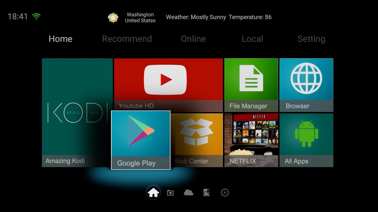 how to clear notifications on android tv box