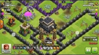 Clash of clans attack strategy 2016!