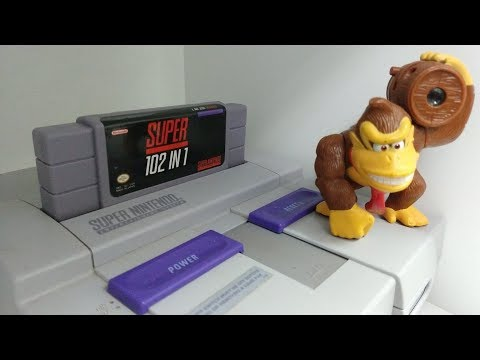 Live Super Nintendo, Cartucho 102 in 1 - 동영상