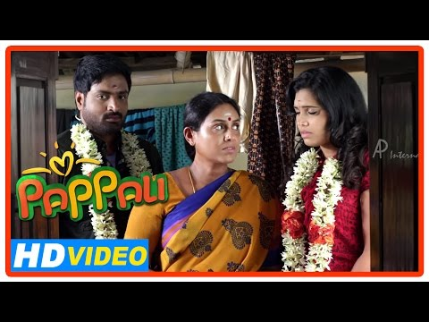 Pappali Tamil Movie | Scenes | Senthil And Ishara Get Married | Saranya Challenges Ilavarasu