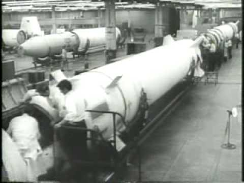 Redstone Missile Assembled & Launched 1957/2/14
