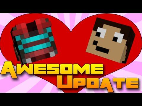 IM IN LOVE WITH SAJMON! - Minecraft Love & Hugs Update