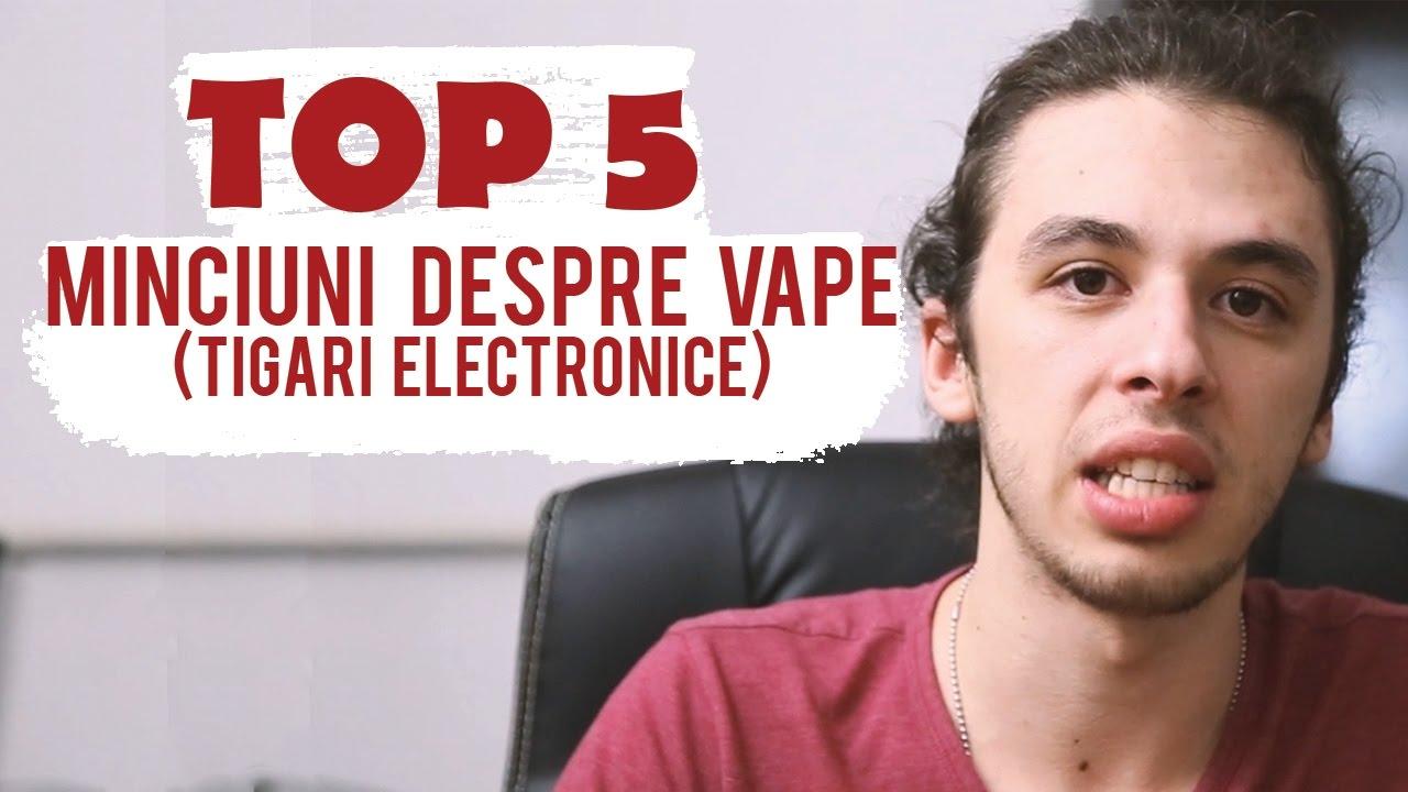 MINCIUNI Despre Vapat - Top 5