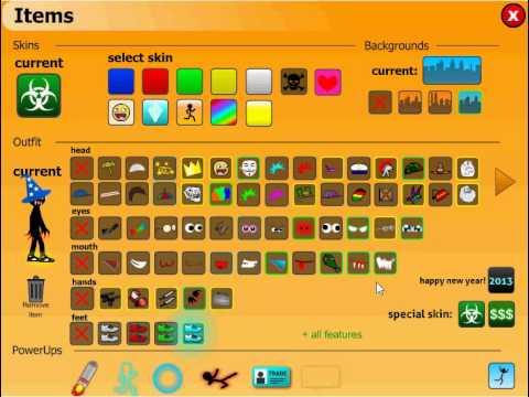 stick run free items slots