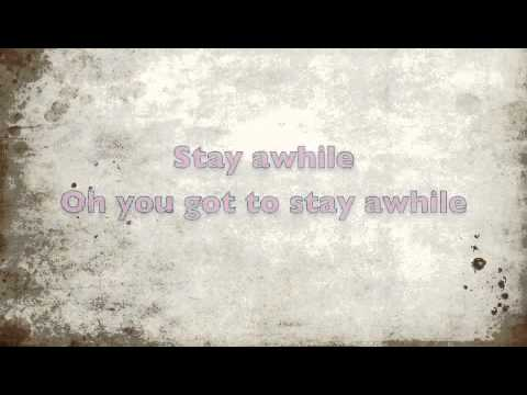 Stay Awhile (Lyrics)- Ryan Star