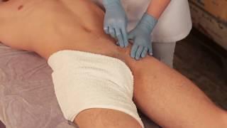 Как делать шугаринг мужского бикини. Мануальная техника.