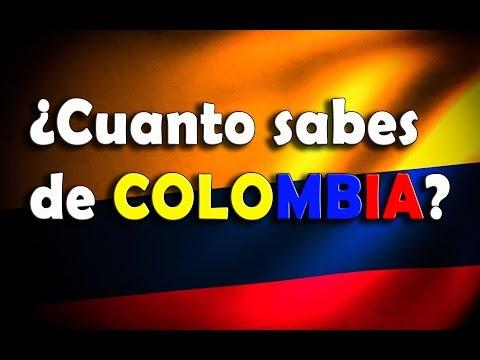 ¿CUANTO SABES SOBRE COLOMBIA?-Dato Curiosos