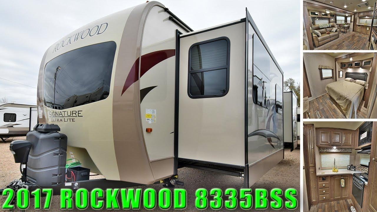 Rockwood Signature Ultra Lite >> 2017 Front Kitchen ROCKWOOD 8335BSS Signature Ultra Lite Travel Trailer RV Camper Colorado ...