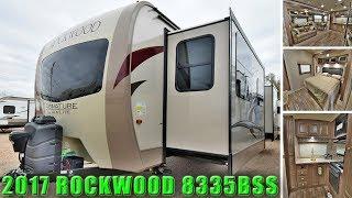 2017 Front Kitchen ROCKWOOD 8335BSS Signature Ultra Lite Travel Trailer RV Camper Colorado Dealer