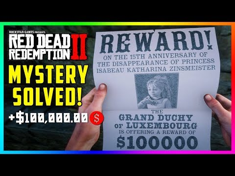 Finding The Missing Princess Isabeau In Red Dead Redemption 2 - Where She Is Located & MORE! (RDR2)
