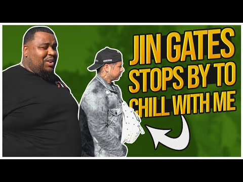 JIN GATES STOPS BY TO CHILL WITH ME