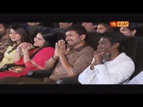 Theri Audio Launch Full | Ilayathalapathy Vijay | GV50 | Vijay TV | 03/04/16 thumbnail
