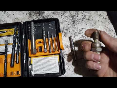 How to remove a broken spark plug from the engine