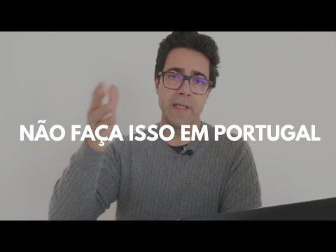 6 coisas que voc� N�O deve fazer em Portugal