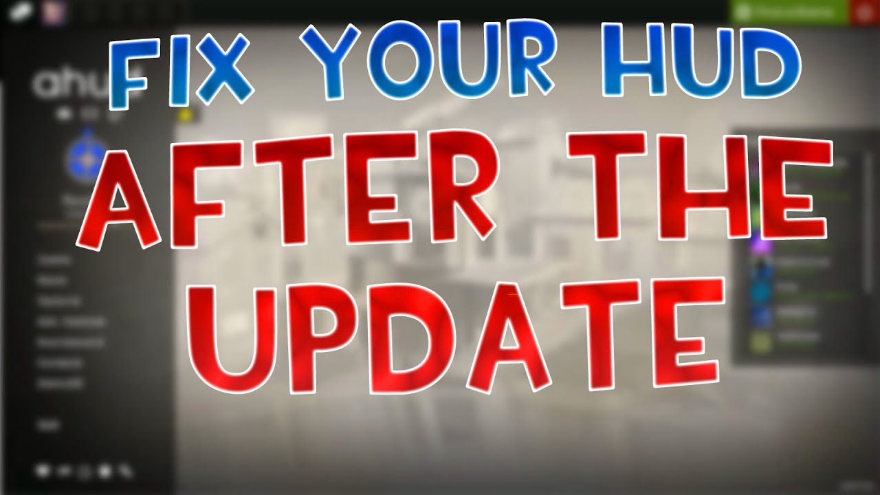 [TF2] How To Fix + Change Your Hud AFTER The Update
